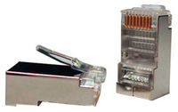 PR73SXG6/080850 Connector RJ45 STP solid cat7 50um 1.45mm (cat7, for max wire diameter 1,45mm)