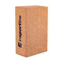 Блок для йоги / пилатеса пробковый 23x15x7.5 см (800 г.) inSPORTline 18236 (698)
