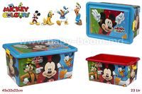 Color Baby 76613 Бокс для игрушек  Mickey