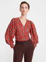Блуза RESERVED Красный с принтом xt093-mlc