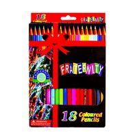 Карандаши цветные Fraternity 18 цветов