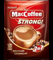 MacCoffee 3в1 Strong (10пак в упаковке)