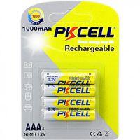 Baterii reincarcabile PkCell AAA 1000 mAh 4 bucati