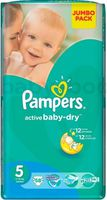 Pampers Active Baby Junior 5 (11-18 кг.) 58 шт.