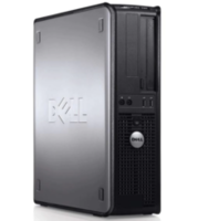 DELL Optiplex 380 Desktop Intel® Core 2 Duo E8400 - 3M Cache, 3,0 GHz, 1333 MHz FSB 4096Mb DDR3, HDD 250GB, DVD
