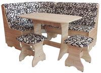Кухонный уголок  Cleo 2 Eco c 2 стулья