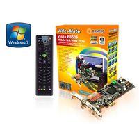 Tuner COMPRO VideoMate E850F Hybrid TV/FM/Capture card, NXP SAA7163, w/PowerUp, Stereo, w/Hardware MPEG-1/2/4, PIP/POP, TimeShift, PCI-Ex, w/Remote Co