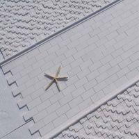 Мраморная мозаика Тассос Полисата 5 х 10 см