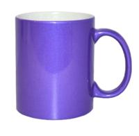 Кружка для сублимации фиолетовая 11oz