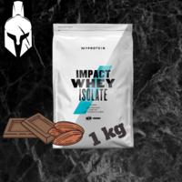 Изолят сывороточного белка - Impact Whey Isolate - Шоколад и Oрехи   - 1 KG