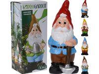 купить Гном декоративный H30cm с инструментами, подарочная упаковка в Кишинёве