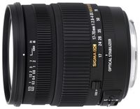 Zoom Lens Sigma AF  17-70mm f/2.8-4 DC MACRO OS HSM (Contemporary) F/Can