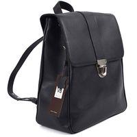 Рюкзак VB D37 кожа/черная
