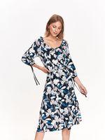 Платье TOP SECRET Черный в цветочек ssu2377