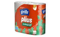 Туалетная бумага Grite 3сл. 4 рулона