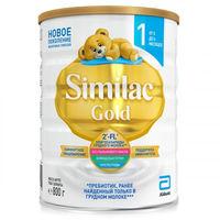 Similac Gold 1 молочная смесь, 0-6мес.800 г