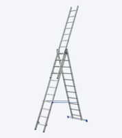 купить Универсальная лестница из алюминия VHR HK 3x10, 2.42/4.14/6.39 мм в Кишинёве