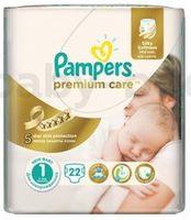 Pampers Premium Care 1 (2-5кг.) 22 шт.