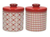 купить Емкость керамическая Kubik Rosso 600 ml в Кишинёве