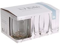Набор стаканов EH 6 шт 250ml D6cm H10.5cm