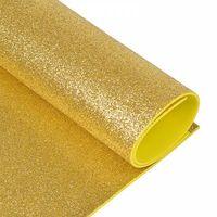 Foamiran cu sclipici Culoare: aur deschis, A4
