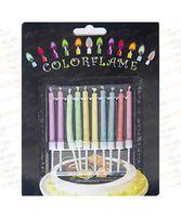 Набор свечей с цветным огнем