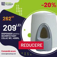 DISPENSER - DEZINFECTANT COLAC WC, 400ML