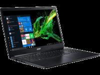 "ACER Aspire A315-23 Charcoal Black (NX.HVTEU.01N) 15.6"" FHD (AMD Ryzen 5 3500U 4xCore 2.1-3.7GHz, 8GB (2x4) DDR4 RAM, 512GB PCIe NVMe SSD, AMD Radeon Vega 8 Graphics, w/o DVD, WiFi-AC/BT, 2cell, 0.3MP webcam, RUS, Linux, 1.9kg)"