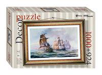 """Mozaic """"puzzle"""" 1000 + cadru """"Sea Battle"""" (puzzle plastic), cod 40803"""