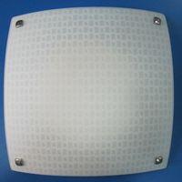 HF-MD1905 plafon patrat 3*E27 alb HF