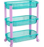 Полка для игрушек Idea Конфетти (3 секции) Разноцветная (М 2728)
