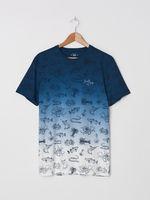Tricou HOUSE Albastru inchis zj819