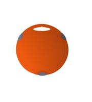 Tocator plastic rodund (27.5*27.5 cm)