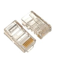 Modular Plug, RJ-45 Cat.5E 100pcs/bag