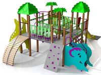 Complex de joacă EBS Jungle 121