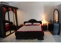 Спальня Футура с шкафом, красное дерево