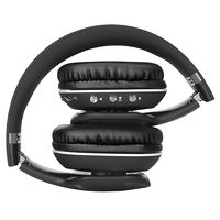 купить SVEN AP-B560MV, Bluetooth Headphones with microphone and LED backlight, Bluetooth v.4.1, operation time with battery up to 18 h, range up to 10 m, call acceptance, track switching control, Wired / wireless, 3.5mm (4 pin) stereo mini-jack, Black в Кишинёве
