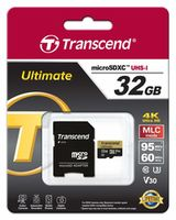 Карта памяти MicroSD Transcend TS32GUSDU3M