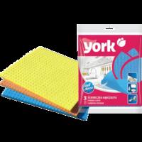 York салфетки влаговпитывающие, 3 шт.