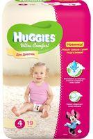 Huggies Ultra Comfort Small Girl 4 (8-14 кг.) 19 шт.
