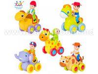 Huile Toys 366ABCDE Животное с наездником в ассортименте 5