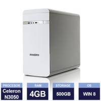 Zoostorm 7200 Desktop ( Intel Celeron N3050 1.6GHz | 4 GB | 500 GB HDD | White )
