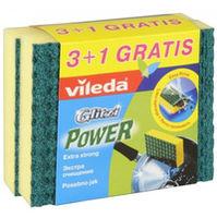 VILEDA BURETE GLITZI EXTRA POWER 3+1