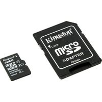 Kingston 32GB, microSDHC Class10 SD adapter 300x