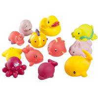 Игрушки для ванной Babymoov Girl 12 шт