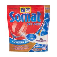 Detergent Somat Gel pentru Masina de Spalat Vase 20 capsule -50%