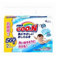 Влажные салфетки Goo.N (8x70 шт)