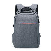 """Городской рюкзак Tigernu T-B3130 для ноутбука 15.6"""", водонепроницаемый, с USB портом, светло-серый"""