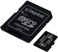 Сard de memorie Kingston microSD 32Gb Class10 A1 UHS-I + SD adapter (SDCS2/32GB)