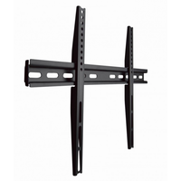 "Wall Mount  Gembird ""WM-65F-02"" Black 32""-65"", 40kg, VESA:up 600x400"